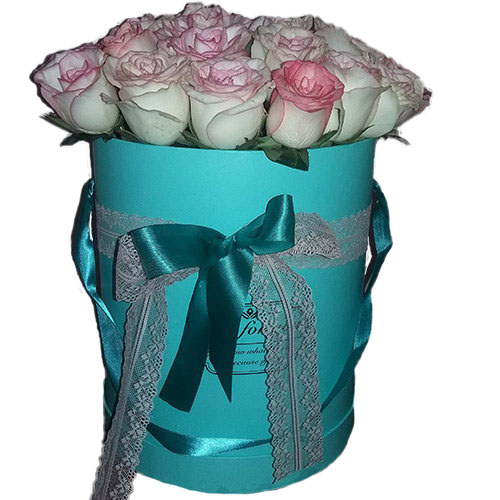 фото 21 элитная розовая роза в фирменной упаковке