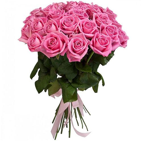 """букет 25 роз """"Аква"""""""