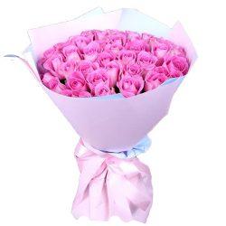 """,ertn 35 роз """"Аква"""""""