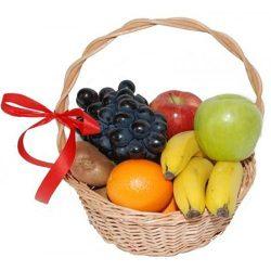 фрукты в корзине фото