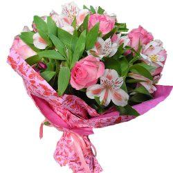Букет Розовый цвет