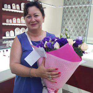букет цветов для жены на годовщину свадьбы