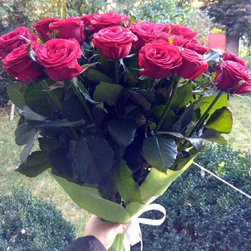 красные розы на день рождения в Николаеве фото