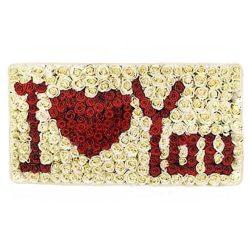 Букет «Я люблю тебя» 301 роза фото товара
