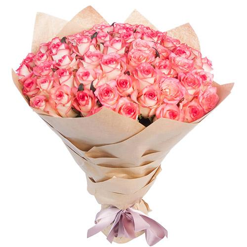 """51 роза """"Джумилия"""" фото товара"""
